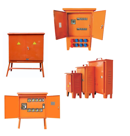 (工地临时用电) 二,三级配电箱