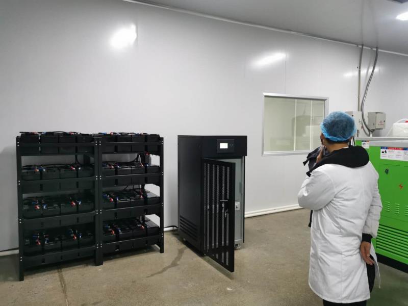 贵州遵义菌菇厂ups德赢ac米兰官方合作安装项目